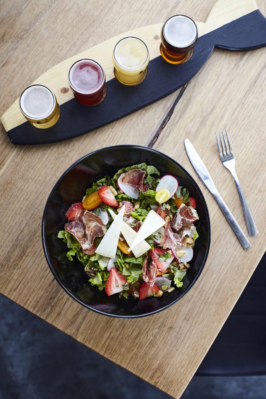 La salade du comté de la Brasserie La Fosse (Donnacona)