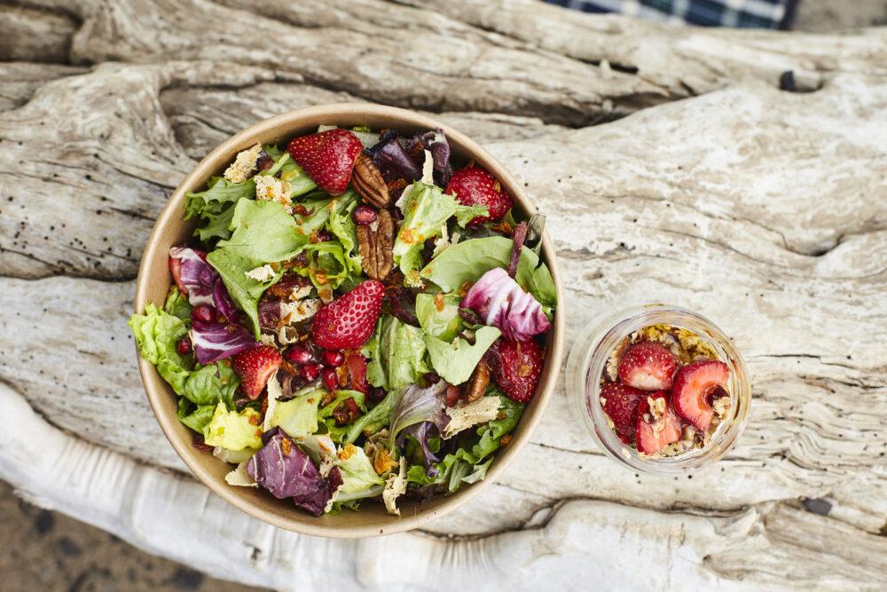 La Salade riche en couleurs chez Le p'tit Patelin