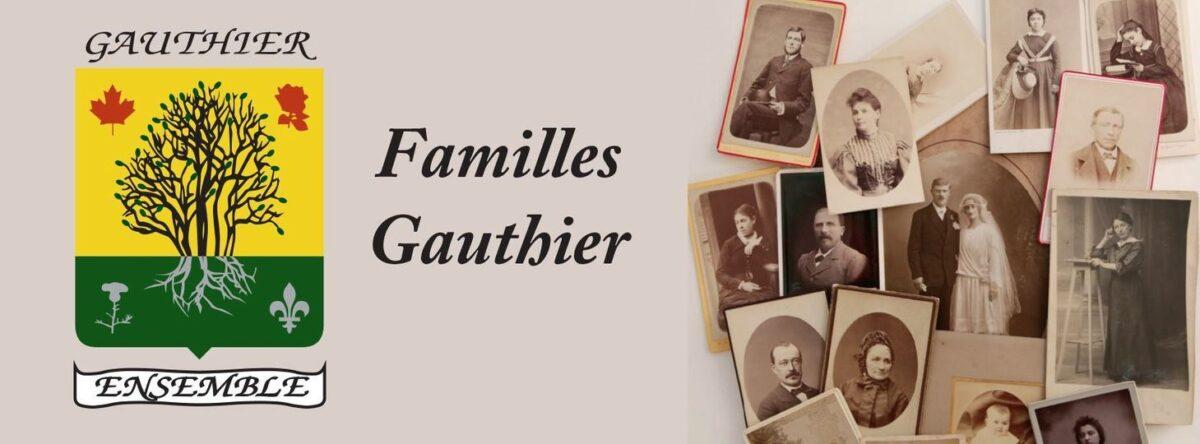 Rassemblement famille gauthier